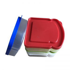 Plastic Sandwish Box / plástico Bread Box / plástico Lunch Box
