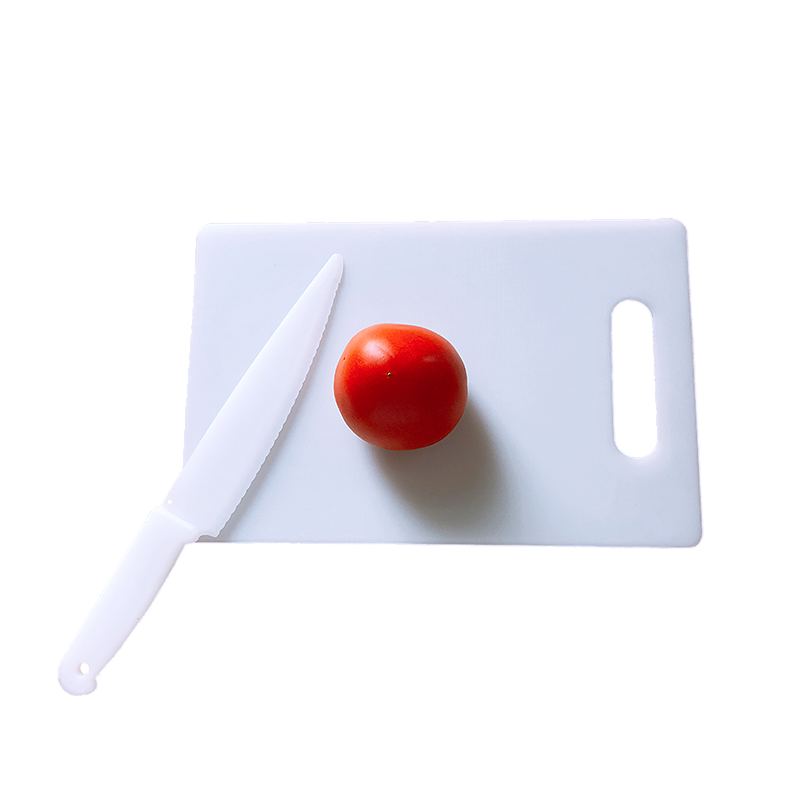 Plastic Cutting Board with knife Featured Image